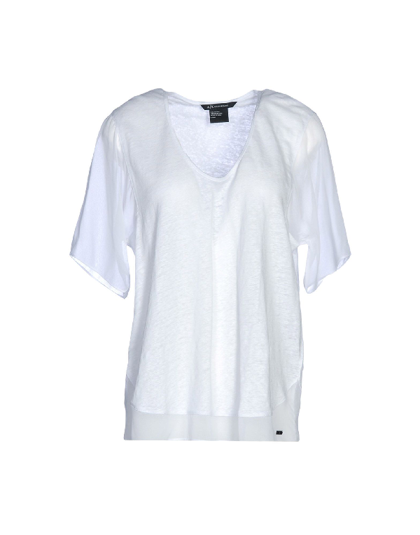 Primary image for ARMANI EXCHANGE Sweater/T-Shirt in White