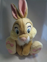 Disney Store Genuine Original Miss Bunny Thumper Bambi Friend Soft Plush... - $14.36