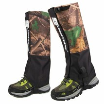 Snake Gaiters For Hiking Camping Snake Bite Protection Leg Guard Boot Wa... - $17.81