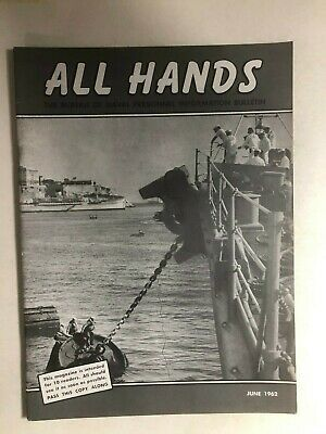Primary image for ALL HANDS U.S. Navy Magazine June 1962 (Vietnam War era)