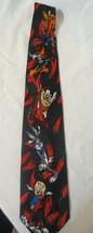 Looney Tunes Warner Bugs Taz Elmer Daffy Chili Pepper Collectible Neckti... - $10.00