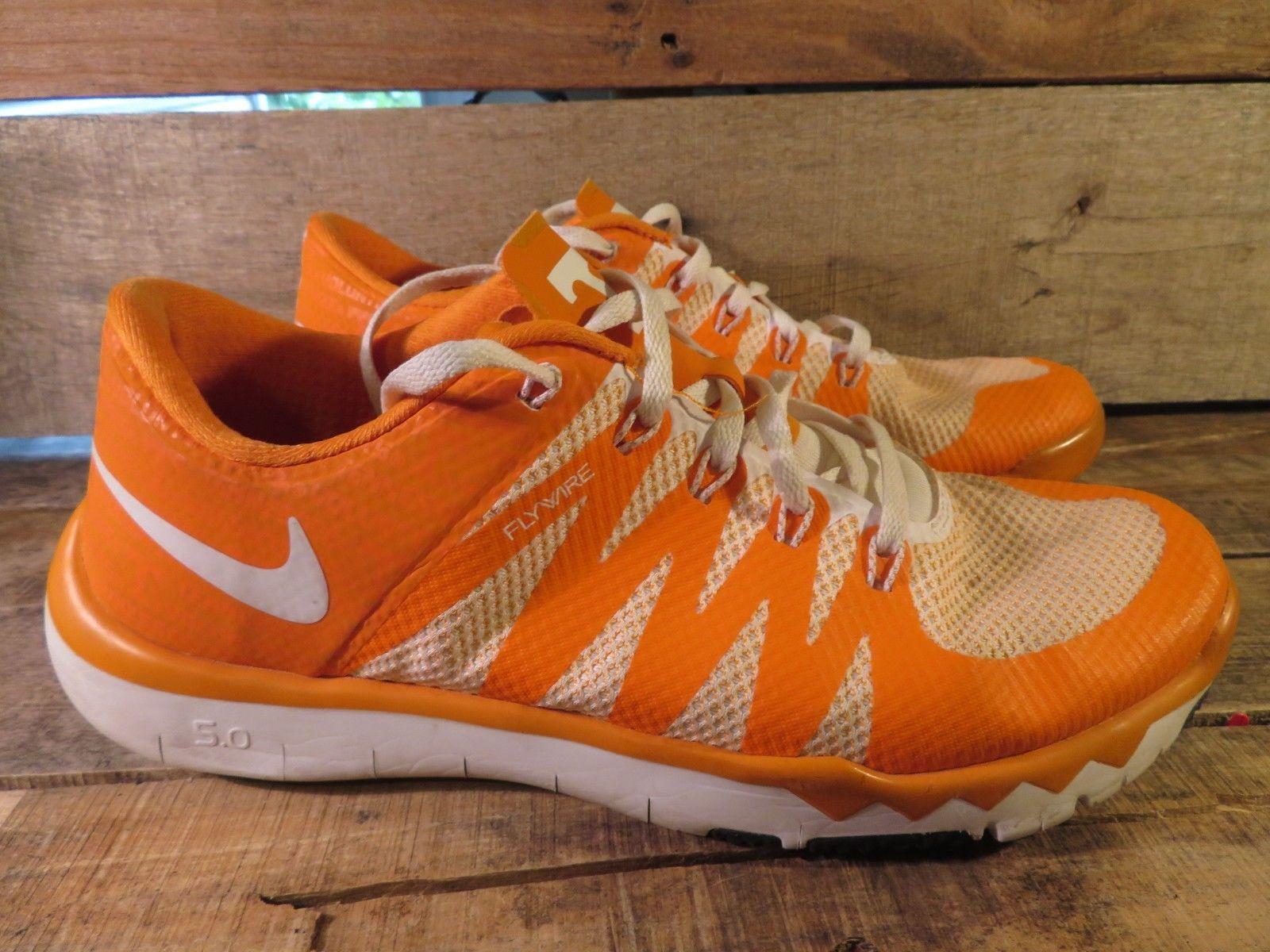 f0188a4d27ed Nike Free Trainer 5.0 V6 Amp Herren Größe 9.5 Tennessee Volunteers  723939-810