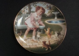Danbury Mint Children of the Week Friday's Child Plate w/box, no COA - $8.99