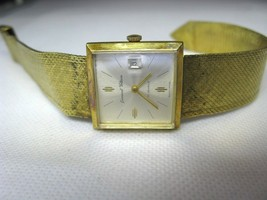 germinal Voltaire 17 Jewels Swiss made Vintage Watch good Running Condition image 2