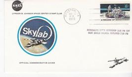 SKYLAB HEAT SHIELD PARASOL DEPLOYED HOUSTON TEXAS MAY 26 1973 LBJ STAMP ... - $1.98