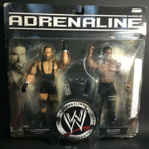 2007 Jakks Pacific WWE Adrenaline Sylvester Terkay and Elijah Burke #28 - $23.74