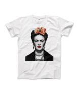 Frida Kahlo With Flowers Poster Artwork T-Shirt - $19.75+