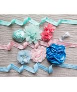 DIY Baby headband kit, make your own headbands, flower headbands, 6 head... - $9.95