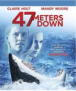 47 Meters Down (2017) [Blu-ray + DVD] - $2.25