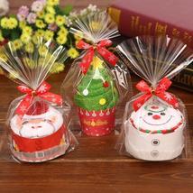 Christmas Gift Cupcake Cotton Towel Natal Noel New Year Decoration Chris... - $3.37