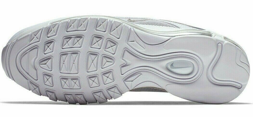 NIKE AIR MAX 97 WHITE/REFLECTIVE SILVER/GREY SIZE 12.5 NEW W/BOX (921826-105) image 6