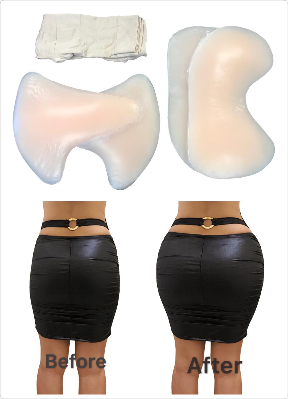 ENVY BODY SHOP Shape Up Booty Out High Waist Girdle Crossdressing Hip Butt Pads  - $239.99