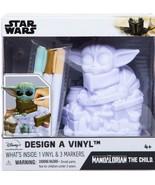 NEW SEALED 2020 Star Wars Design a Vinyl Mandalorian The Child Baby Yoda... - $14.89