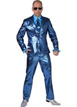 """Metalic Blue Suit - Showman / Pimp / Disco - Small 40"""" - $46.00"""