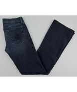 7 For all Mankind jeans A Pocket Boot cut USA Made Dark Blue Womens Size 28 - $18.76
