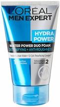 L'Oreal Paris Men Expert Hydra Power Duo Foam Cleanser, 100 ml - $19.42