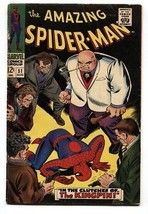 AMAZING SPIDER-MAN #51 comic book 1967 - MARVEL COMICS SILVER-AGE VG - $81.97