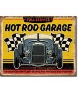 New Hot Rod Garage - '32 Rod Decorative Metal Tin Sign - $9.41