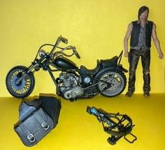 WALKING DEAD McFarlane - DARYL DIXON w/ MOTORCYCLE Action Figure - Loose - $12.86