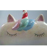 Iridescent Unicorn Butter Dish Rainbow  - $9.90
