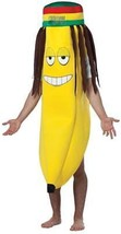 Banana Rasta Adult Costume Tunic Food One Size Halloween Party Unique GC... - $64.99