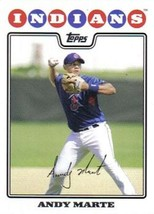 2008 Topps #645 Andy Marte NMMT Indians  - $0.75