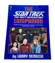 Star Trek the Next Generation Companion Soft Cover Book Pocket Books - $7.69