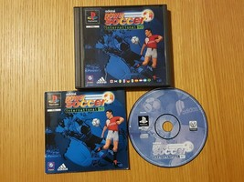 Adidas Power Soccer PS1 PAL Sony PlayStation 1 Vintage Football game - $9.73