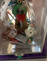 Vintage Mistletoe Magic Collection Mouse & Squirrel Metronom Christmas O... - $16.48
