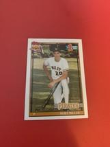 1991 Topps Pittsburgh Pirates Baseball Card #491 Kurt Miller Rookie - $4.94