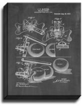 Billiard Bridge Patent Print Chalkboard on Canvas - $39.95+