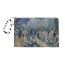 Cezanne Bathers Art Painting Canvas Zip Pouch - $14.99+
