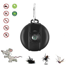 Portable Solar/USB Ultrasonic Pest Repeller Outdoor Compass Travel Pests... - $16.21
