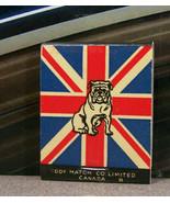 Vintage Matchbook M7 Canada Patriotic WWII War Savings Certificates Bull... - $53.99