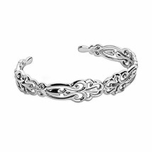 Carolyn Pollack 925 Silver Country Couture Cuff Bracelet - Medium - $77.16