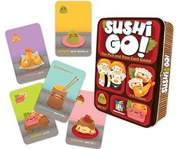 Sushi Go! - The Pick and Pass Card Game - $14.32