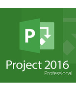 Microsoft Project 2016 Professional Key With Download 32/64 Bit - $18.90