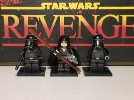 3Pcs Dark Rey Sith And Death Troopers Star Wars Clone Wars Minifigure Cu... - $7.99