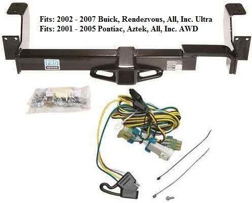 buick terraza trailer wiring harness buick rendezvous trailer hitch w wiring kit and 13 similar items  buick rendezvous trailer hitch w