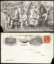 Lyon & Healy All Over Music Ad Back & White Children Cover - Stuart Katz - $175.00