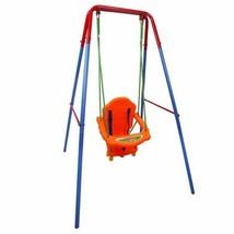 Durable Outdoor Backyard Playground Children's Swing Set w/Rope - $111.99
