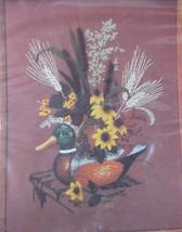 Wooden Decoy 0330 Creative Circle Embroidery Kit Duck Bob Shafor - $14.97