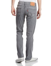 NEW LEVI'S STRAUSS 511 MEN'S ORIGINAL SLIM FIT PREMIUM DENIM JEANS GREY 511-1244