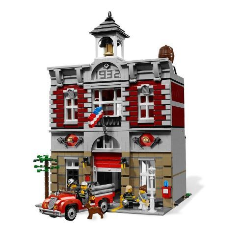 City fire brigade building blocks