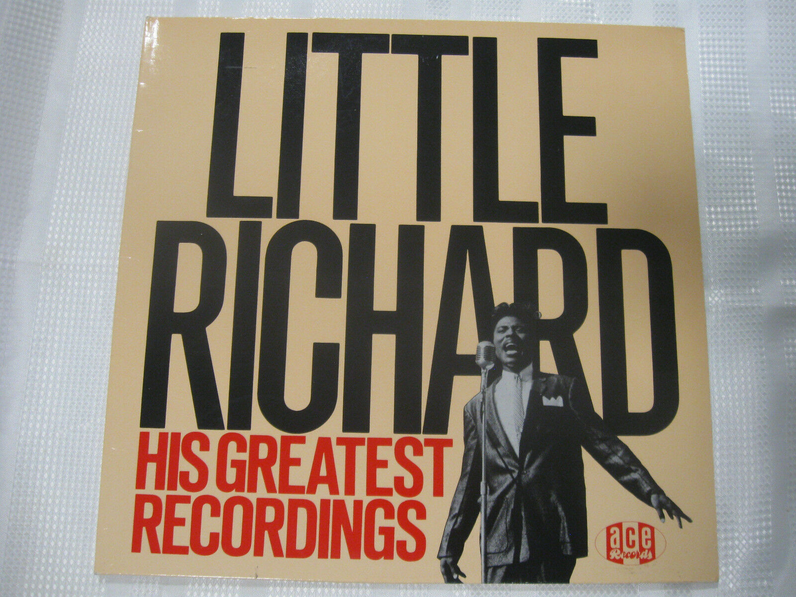 Little Richard His Greatest Recordings Ace CHA 109 Mono LP Record Album UK Press