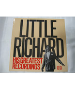 Little Richard His Greatest Recordings Ace CHA 109 Mono LP Record Album ... - $24.99