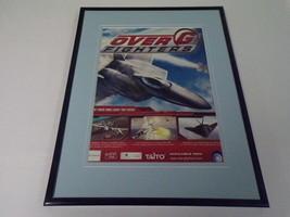 Over G Fighters 2006 XBox Framed 11x14 ORIGINAL Vintage Advertisement - $34.64