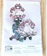 RiiverTown Warehouse R-201 Sisters Rag Dolls Clothes Stick Horse Pattern... - $8.90
