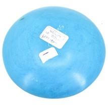 Vaneal Group Hand Carved Kisii Soapstone Blue Giraffe Trinket Bowl Dish Kenya image 2