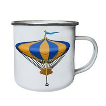Hot air ballon design Retro,Tin, Enamel 10oz Mug h189e - $13.13